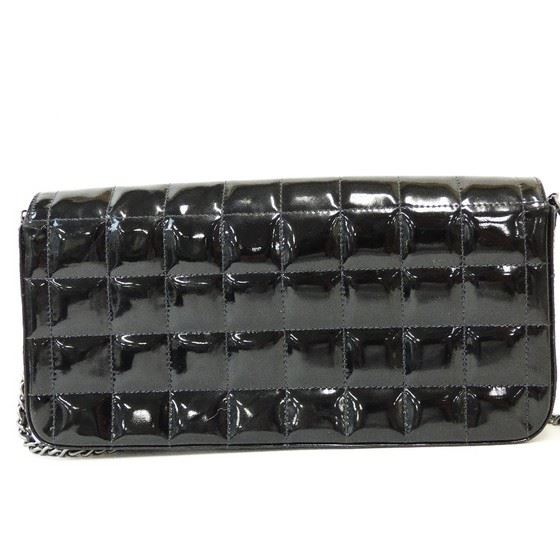 Picture of Chanel black patent chocolate bar