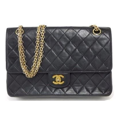 Image of Chanel double flap mademoiselle chain