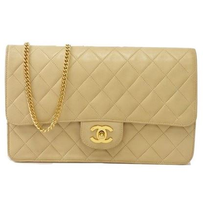 Image of Chanel timeless gold chain bag