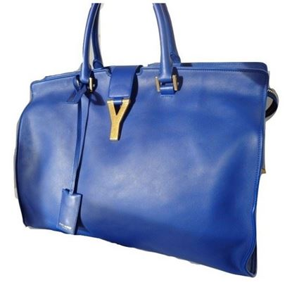 Image of Saint Laurent blue bag