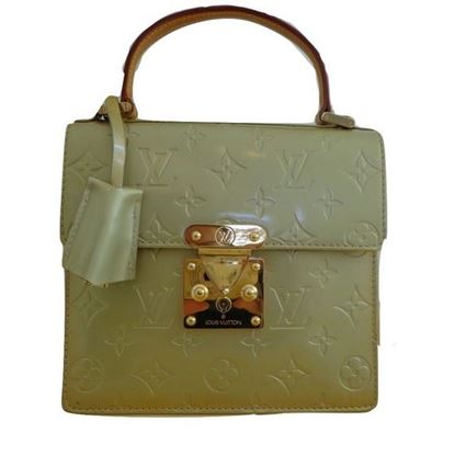 Image of Louis Vuitton vernis monogram gold