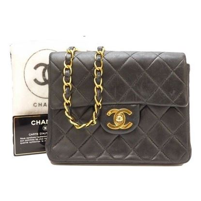 Image of Chanel square classic mini bag