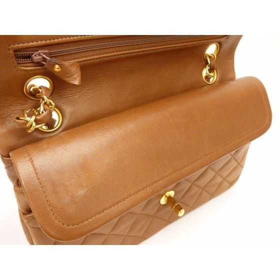 Picture of Chanel caramel 2.55 double flap bag
