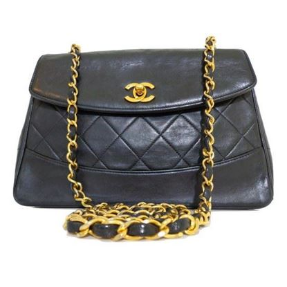 Image of Chanel single flap crossbody bag