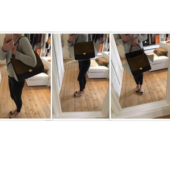 Picture of CÉLINE large Tricolor Trapeze bag