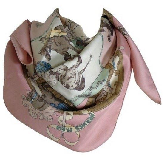 Picture of Hermes Musèe Vivant du Cheval scarf