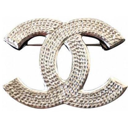 Image of Chanel CC brooch