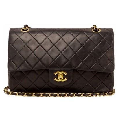 Image of Chanel medium 2.55 timeless double flap bag