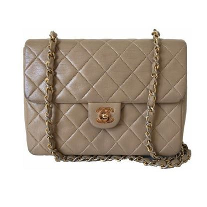 Image of Chanel CAFE AU LAIT timeless 2.55 crossbody bag