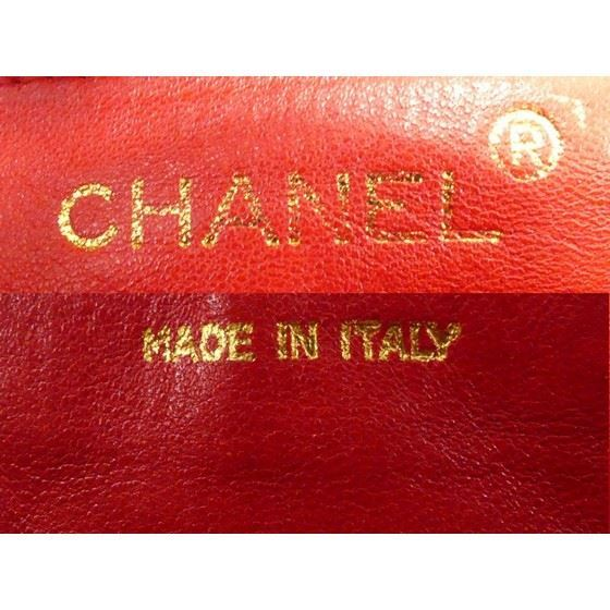 Picture of CHANEL red Lambskin small chain crossbody Bag