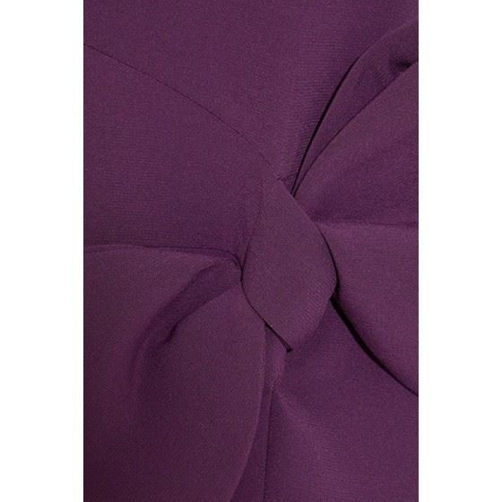 Picture of Roksanda Laurana bow-embellished stretch-cady dress