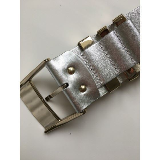 Picture of Versace for H&M silver leather belt