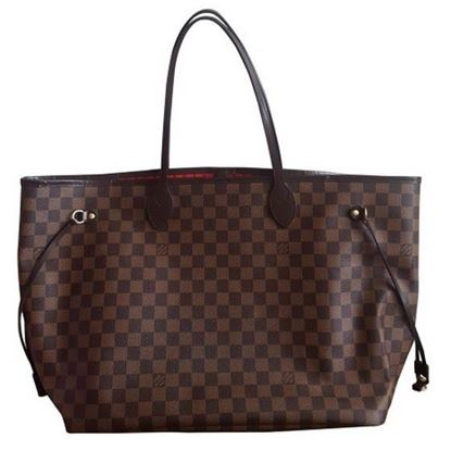 Image of Louis Vuitton Neverfull GM damier ebene