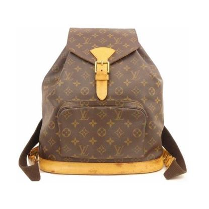 Image of LOUIS VUITTON Monogram Montsouris GM Backpack