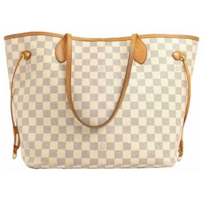 Image of Louis Vuitton Damier Azur MM bag