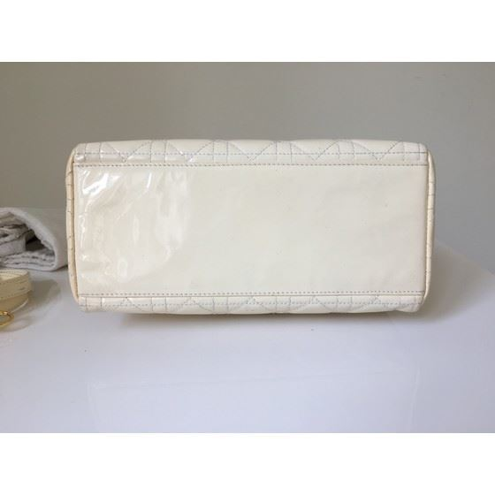 Picture of Christian Dior LADY DIOR Patent Leather Cannage 2 Way bag