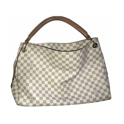 Image of Louis Vuitton Damier Azur artsy bag
