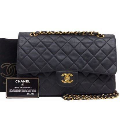 Image of Chanel 2.55 timeless medium double flap bag