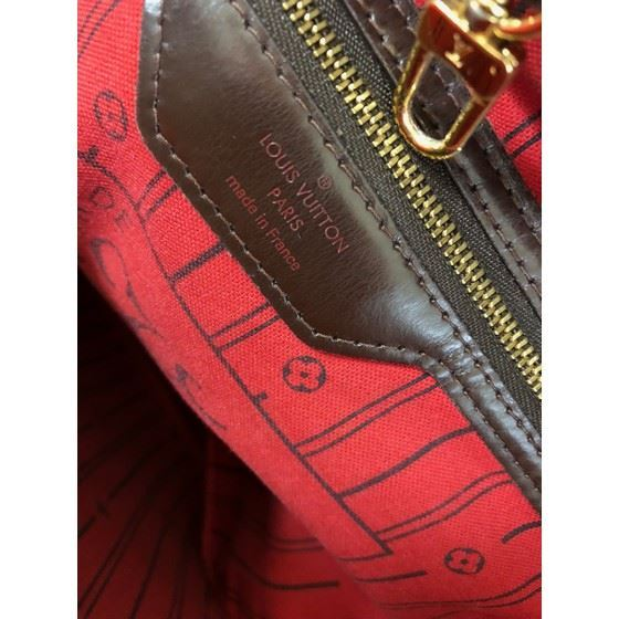 Picture of Louis Vuitton Neverfull MM damier ebene bag