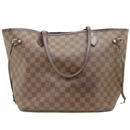 Image of Louis Vuitton Neverfull MM damier ebene bag