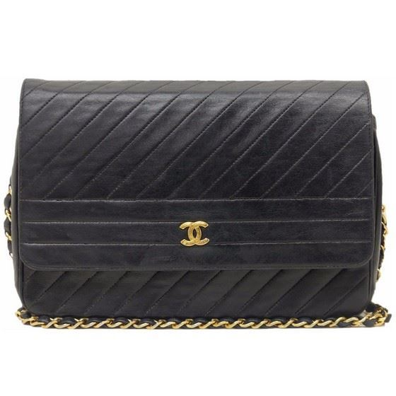 Picture of Chanel chevron medium flap bag