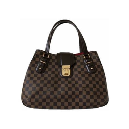 Image of LOUIS VUITTON N48108 GRIET damier ebene handbag