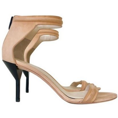 Image of Phillip Lim nude heeled sandals