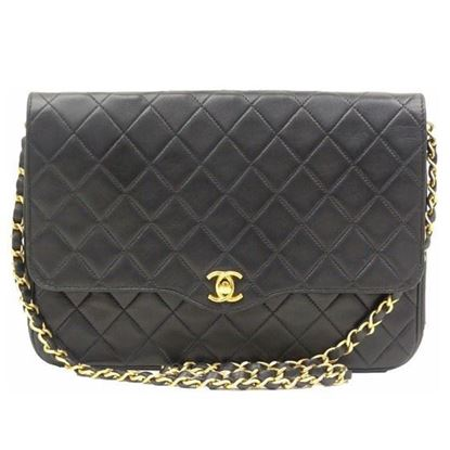 Image of Chanel classic 2.55 timeless medium flap bag