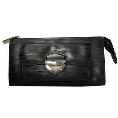 Image of LOUIS VUITTON BLACK EPI LEATHER WALLET
