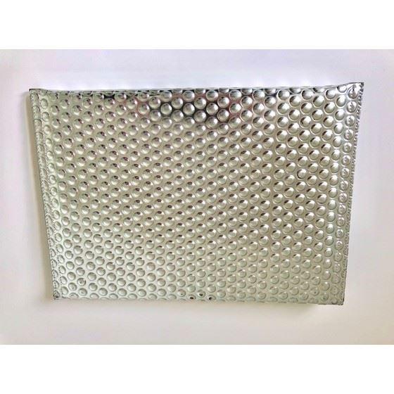 Picture of Maison Martin Margiela Silver Folded Bubble Clutch