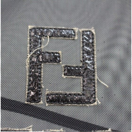Picture of fendi large tote mesh bag