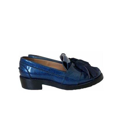 Image of ACNE STUDIOS Azalea glitter loafers