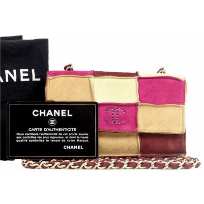 Image of Special piece: Chanel patchwork crossbody bag