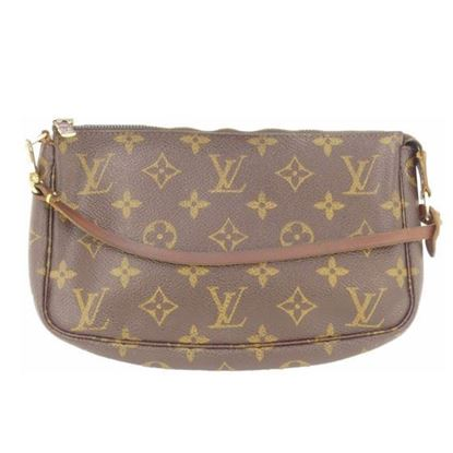 Image of Louis Vuitton pochette monogram pouch handbag
