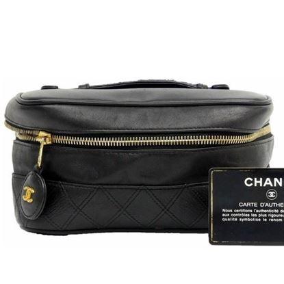 Image of Chanel cosmetic vanity bag