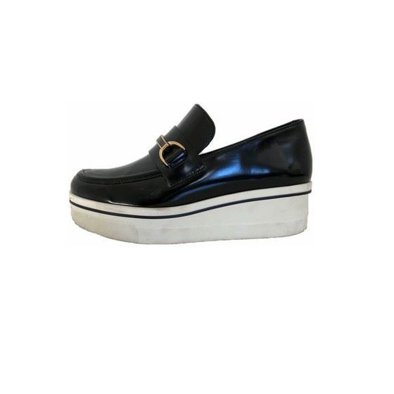 Picture of Stella McCartney black binx loafers