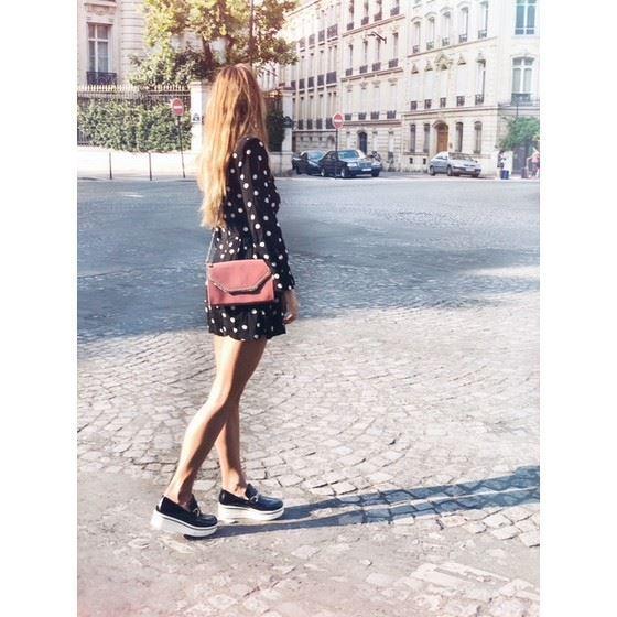 Picture of Stella McCartney black binx loafers