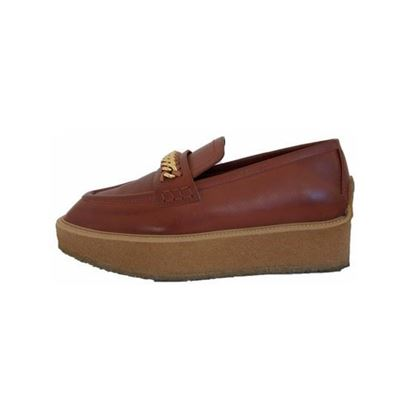 Image of Stella McCartney brown loafers