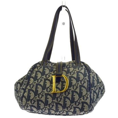 Image of Christian Dior trotter logo bag