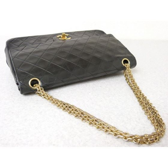 Picture of Chanel 2.55 medium double flap bag with mademoiselle chain