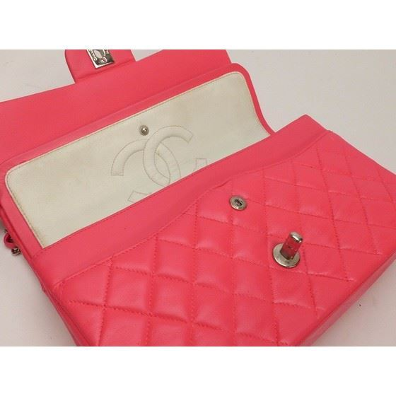 Picture of Chanel pink timeless double flap bag