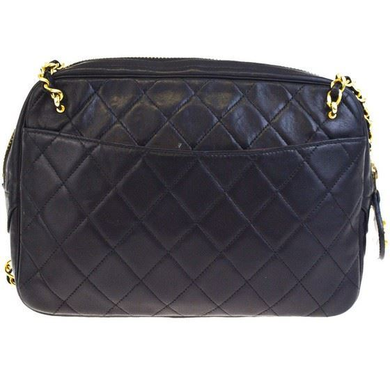 Picture of Chanel classic crossbody ziptop camera bag