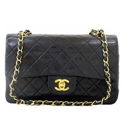 Image of Chanel small 2.55 timeless double flap bag