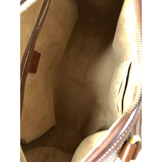 Picture of GUCCI GG Supreme bowling/boston Bag