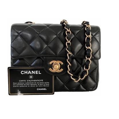 Image of Chanel mini square 2.55 timeless bag
