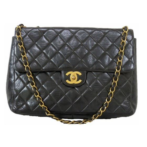 Picture of Chanel 2.55 classic timeless jumbo double chain bag