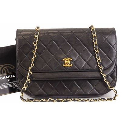 Image of Chanel classic timeless double flap bag