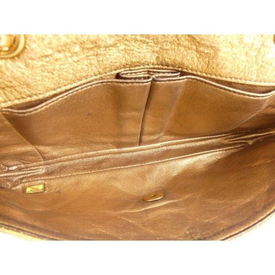 Picture of Copy of SPECIAL PIECE: Chanel gold leather double chain bag