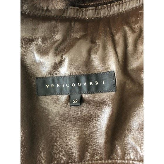 Picture of Ventcouvert leather coat