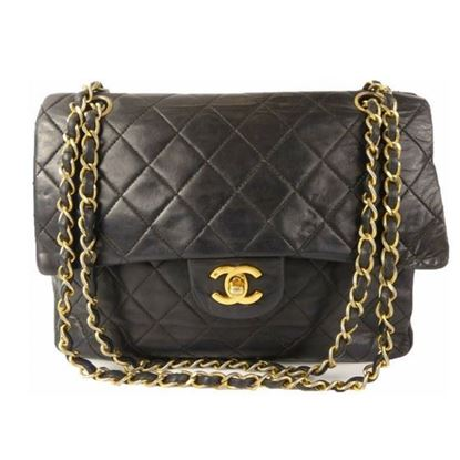 Image of Chanel timeless 2.55 double flap bag